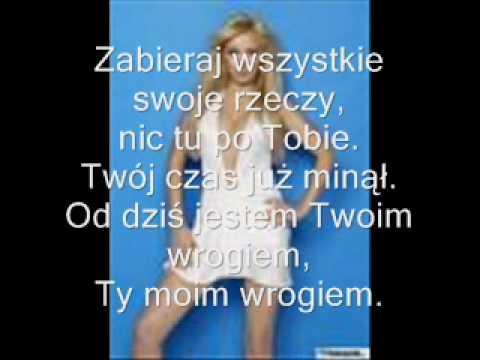 Kasia Cerekwicka Na kolana karaoke + słowa