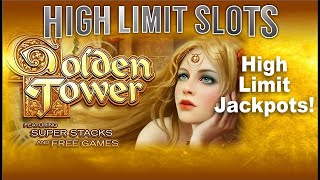 Golden Tower Max Bet $25 per pull Jackpot