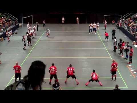 Canada vs USA - Men's Final | Dodgeball World Championship 2014 | 2nd Half