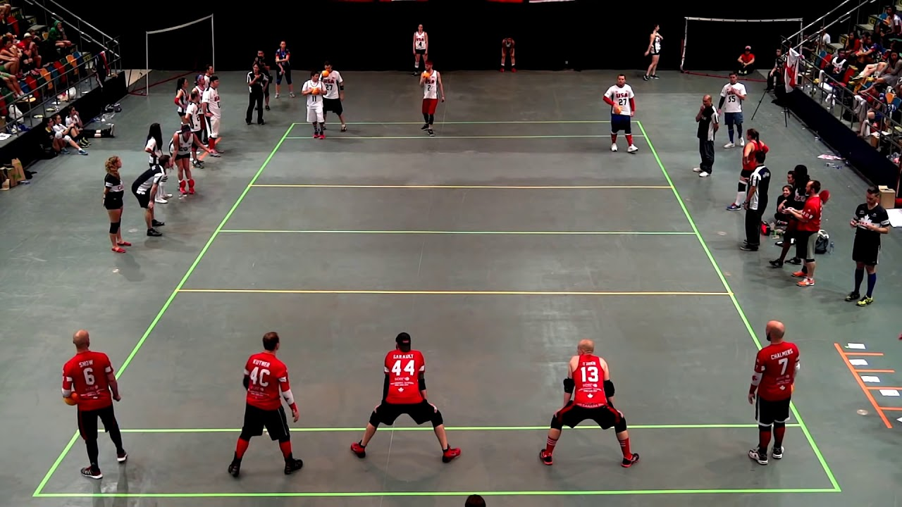 Download Canada vs USA - Men's Final | Dodgeball World Championship 2014 | 2nd Half