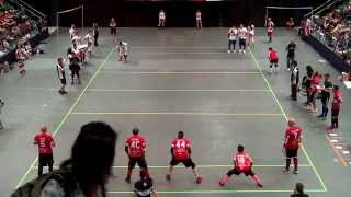 Canada vs USA - Men's Final | Dodgeball World Championship 2014 | 2nd Half