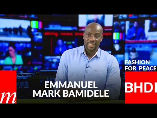 Watch Emmanuel 's message on Fashion for Peace (English)