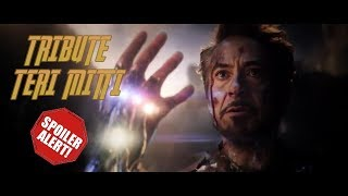 AVENGERS TRIBUTE- TERI MITTI HINDI SONG -IRONMAN -CAPTAIN AMERICA -THOR