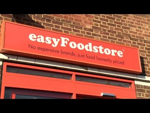 easyFoodstore enters UK budget supermarket wars