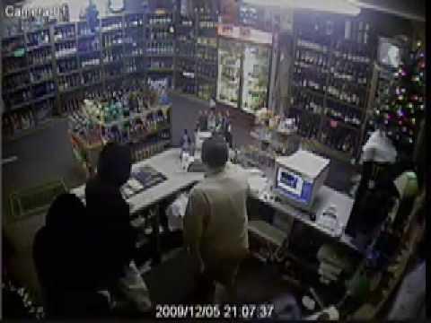 Liquor Barrel Ski Mask Robbery - Columbus, MS - 12/5/09