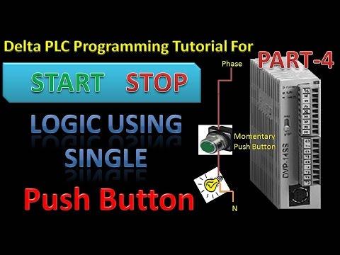 Learn delta plc programming part 4 ladder logic to startstop motor learn delta plc programming part 4 ladder logic to startstop motor using only one button ccuart Choice Image
