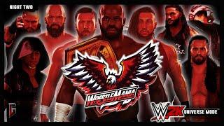 WWE 2K - Universe Mode - WrestleMania: Atlanta - Night 2 (242)