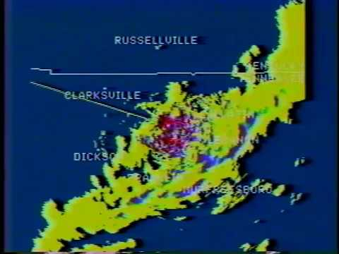 Severe weather coverage, WTVF-TV Nashville, Christmas Eve 1988