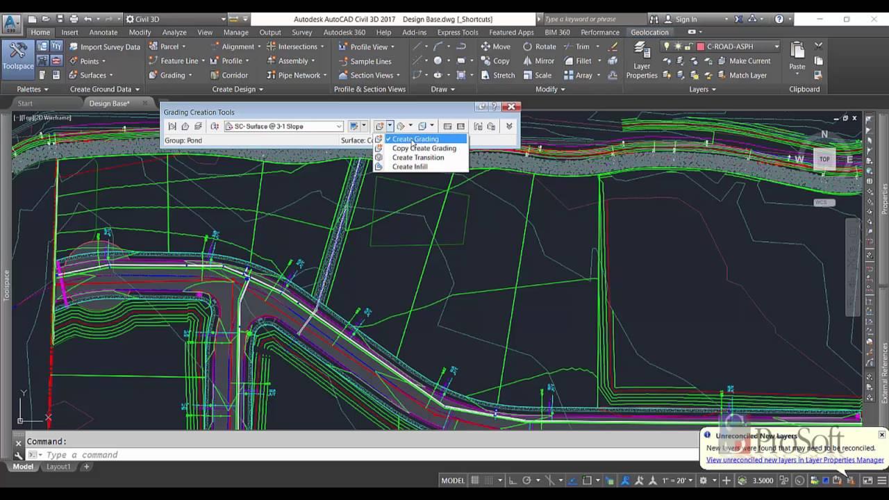 Pond Modeling in Civil 3D 2017