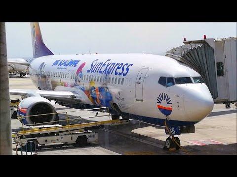 Trip Sun Express die schlümpfe livery 737-800 MUC-LPA!!!!