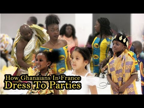 How Ghanaians in France dress to parties-Minnah Album Launch