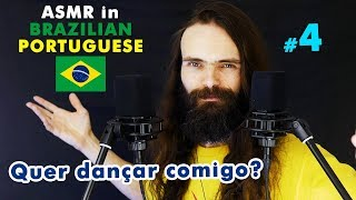 My fourth ASMR video in Brazilian Portuguese (Sussurros, Português, Para Relaxar, a few triggers)