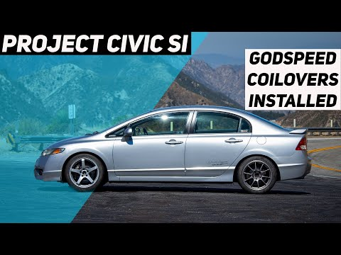 Project Civic Si Gets Godspeed Mono Maxx Coilovers!    Project Civic Si Part 22