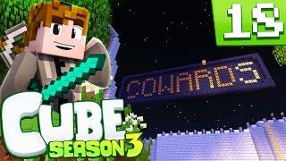 minecraft cube s3 episode 18 cowards minecraft cube smp season 3