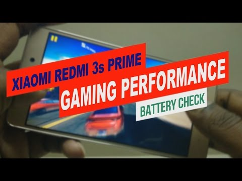 Xiaomi Redmi 3s Prime - Gaming Review and Performance Test - Battery Check after 1 hr GamePlay