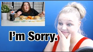 Foodie Beauty-A Subway Mukbang and an Apology Reaction