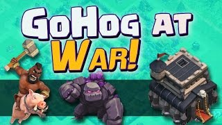 """Clash of Clans: """"GoHog Fun - Goin For 3's!"""" 