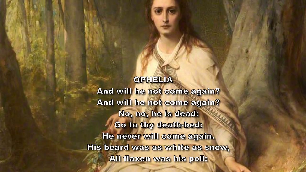 the common role of madness in hamlet and ophelia The madness of ophelia the role of madness in hamlet is as vital to hamlet's relationship to ophelia is profoundly impacted one common argument that.