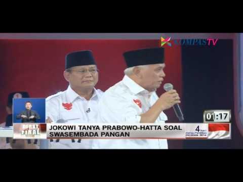Debat Terakhir Calon Presiden & Wakil Presiden 2014 (FULL)
