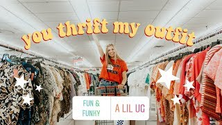 I LET MY INSTAGRAM FOLLOWERS THRIFT MY OUTFIT!!
