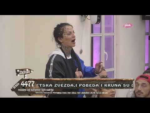 Zadruga 2 - Svađa Jelene Krunić i Aleksandre nakon gledanja snimka - 26.10.2018.