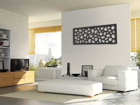 Ideas para la decoracion en las paredes ii youtube for Decoracion pared metal