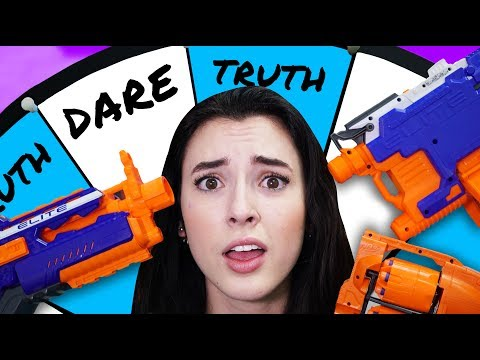 NERF Roulette: Truth or Dare [Ep 2]!