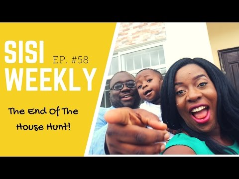 "VLOG: LIFE IN LAGOS, NIGERIA : SISI WEEKLY #58 ""THE END OF THE HOUSE HUNT!"""
