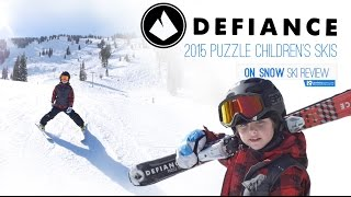 Defiance 2015 Puzzle Children's Skis