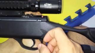 Prendendo a luneta Titan - Hatsan Striker Edge 5.5 mm