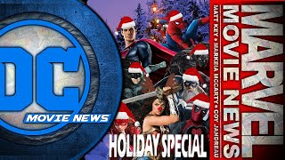 The DC/Marvel Movie News Comicas Holiday Special Spectacular! - Popcorn Talk Holiday Special
