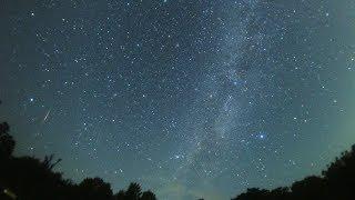 2018年ペルセウス座流星群 極大日前日の流れ星