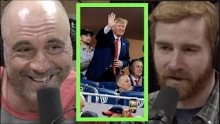 Joe Rogan | Trump Getting Booed at the World Series w/Andrew Santino