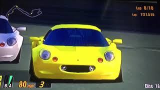 Gran Turismo 3 A-Spec Elise 190, The Lotus Elise Colors Races, Cote D Azur Part 2/2