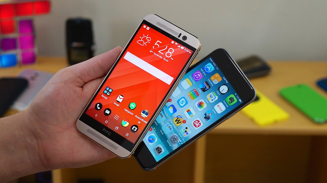 iphone 6 apple com htc one m9 vs apple iphone 6 pocketnow 5437