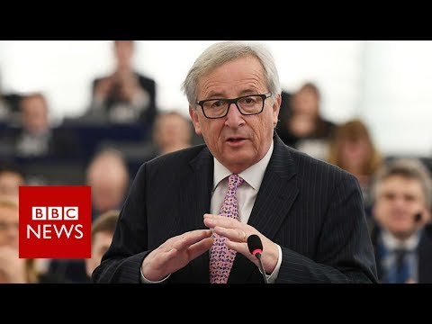 'The European Parliament is ridiculous' says Juncker - BBC News