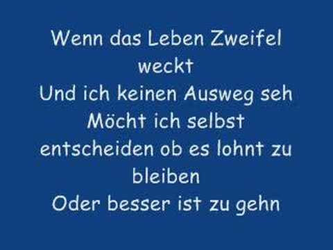 Planlos - Der Brief Lyric