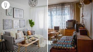 Előtte, utána Ilyen is lehet egy panel lakás! 🏢   INSPIRÁCIÓK Csorba Anitától