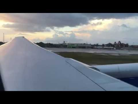 British Airways 777-200 Take Off Owen Roberts International Airport  Grand Cayman