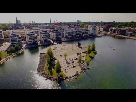 Drohne am Phönixsee in Dortmund Hörde - Mai 2017