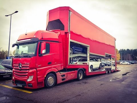 Covered Car Transport - Russells Transport & Rolfo 6 Covered Car Transporter Jeep Supercar Transport