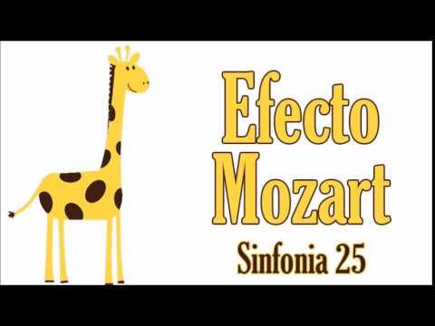 Baby Mozart Sinfonia 25 Efecto Mozart