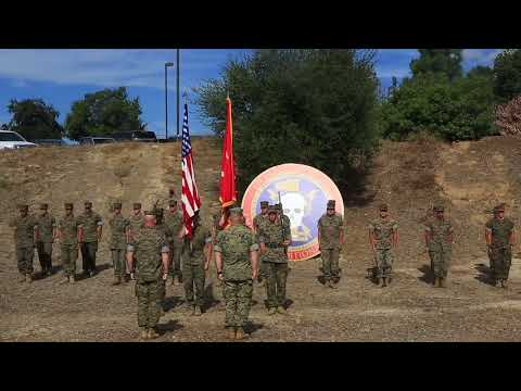 1st Radio Battalion Battle Color Rededication Ceremony-And Library Unveiling