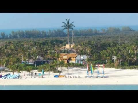 Disney Dream Ship Horn Plays All Songs on Arrival to Castaway Cay, Disney Cruise Line