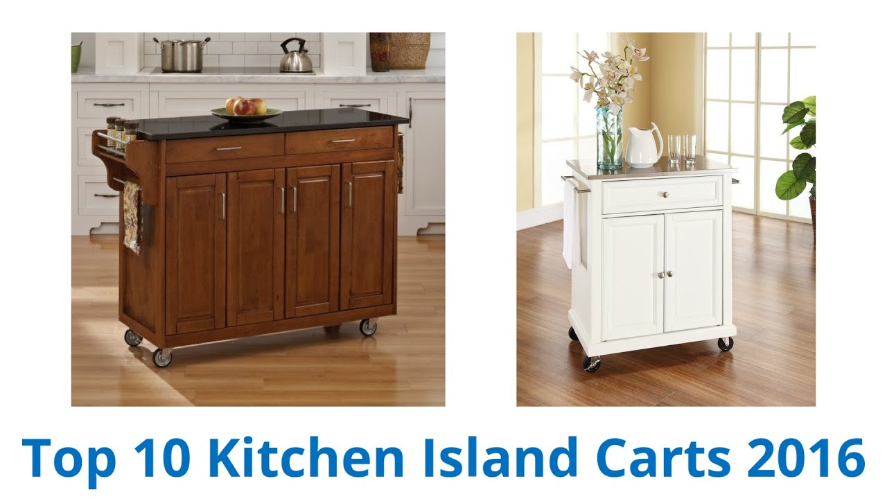 10 Best Kitchen Island Carts 2016