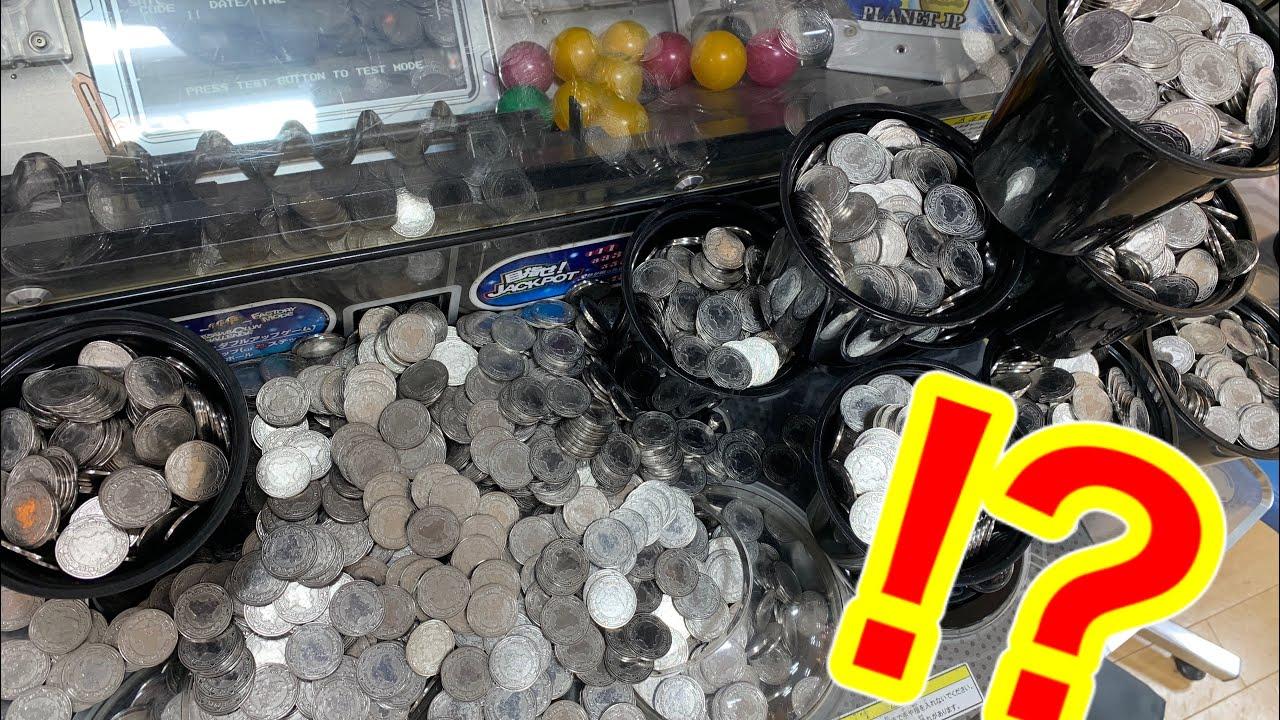【神回】メダルゲームで超高額ジャックポットを当ててしまいました・・・【ガリレオファクトリー3】Japanese Coin pusher