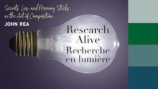 Research Alive @ Schulich: John Rea