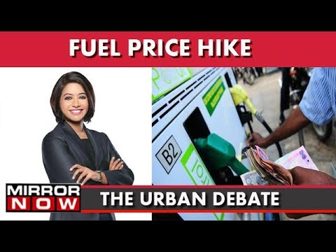 Fuel Price Hike : Should We Have GST On Petrol? I The Urban Debate With Faye D'Souza
