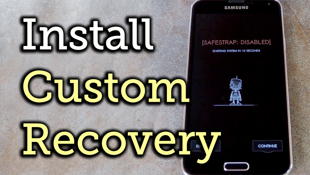 How to Install a Custom Recovery on Your Bootloader-Locked