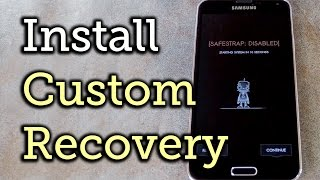 Install Custom Recovery on an AT&T or Verizon Samsung Galaxy S5 [How-To]